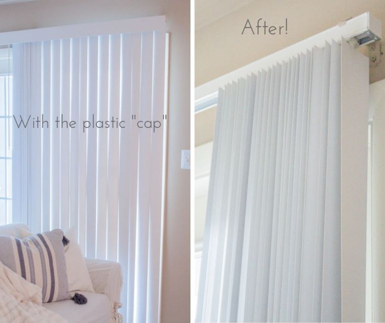 How To Cover The Vertical Blinds In Your Apartment In 2020