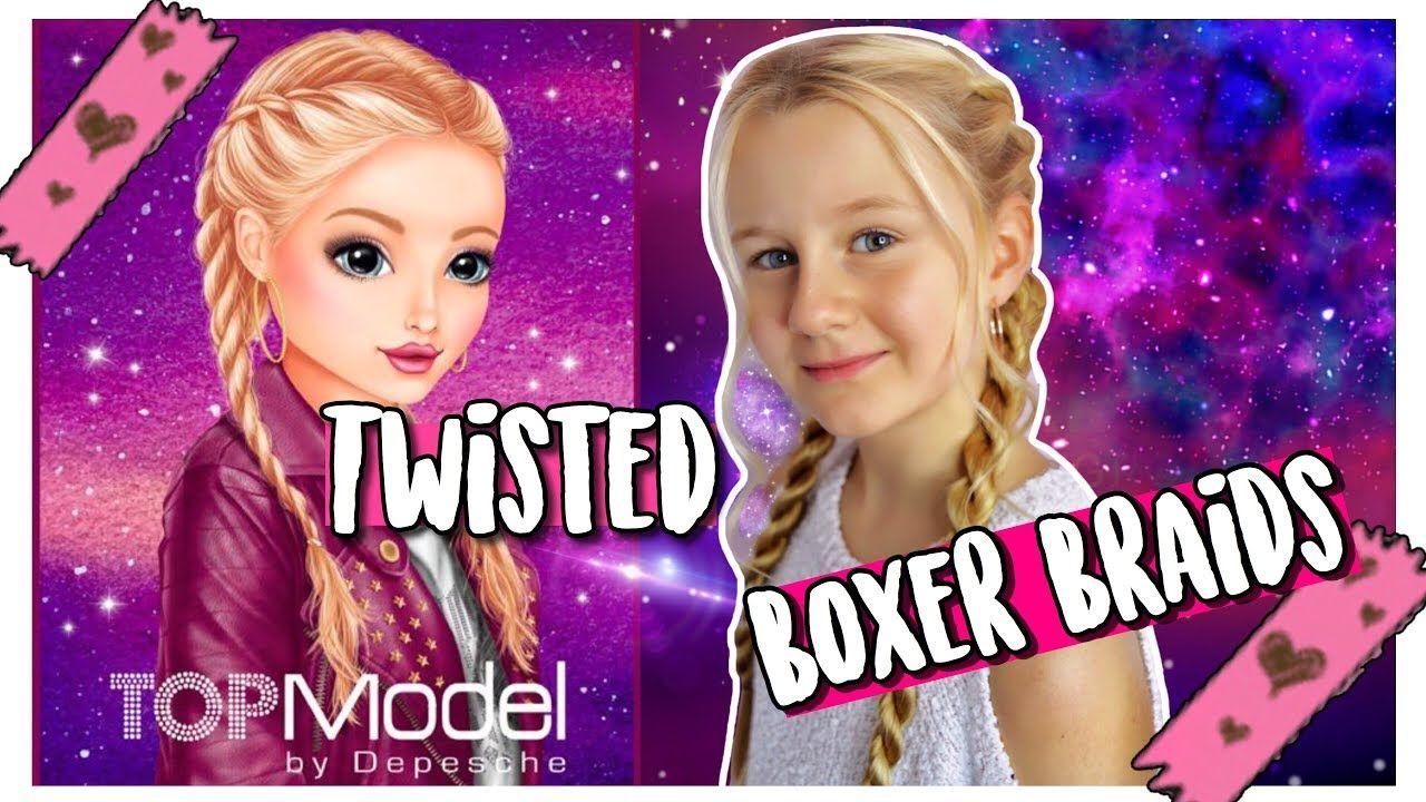 Frisuren Challenge Topmodel Christy Nachstylen Twisted Boxer Braids Mavie Boxer Challenge Christy Boxer Braids Boxer Braids Tutorial Braided Hairstyles