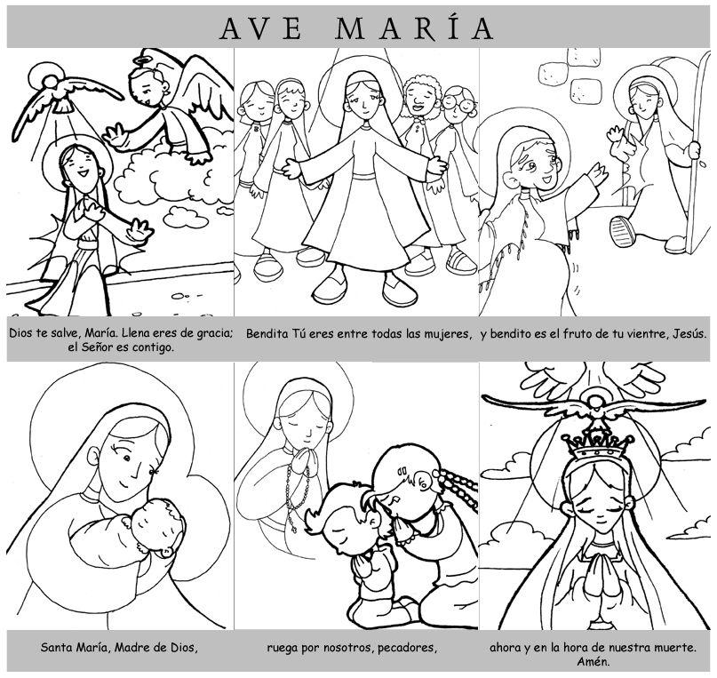 Dibujos para catequesis: Oraciones | oracion (es) | Pinterest ...