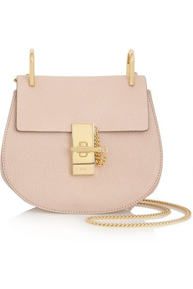 Chloé - Drew small grained-leather shoulder bag