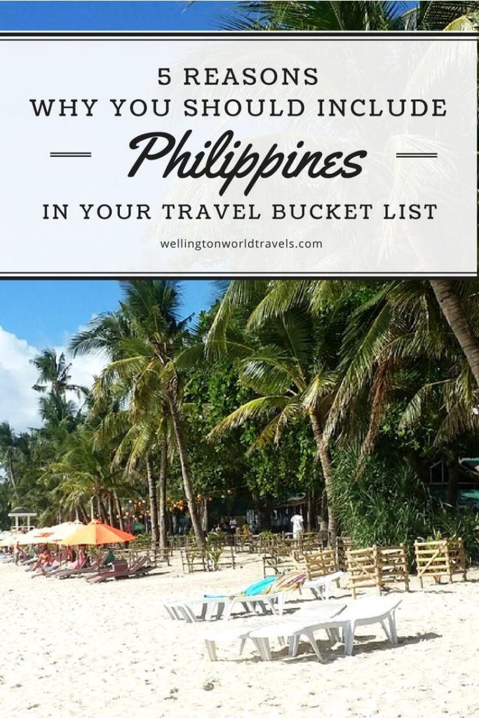 10 Reasons Why You Should Travel To The Philippines (With