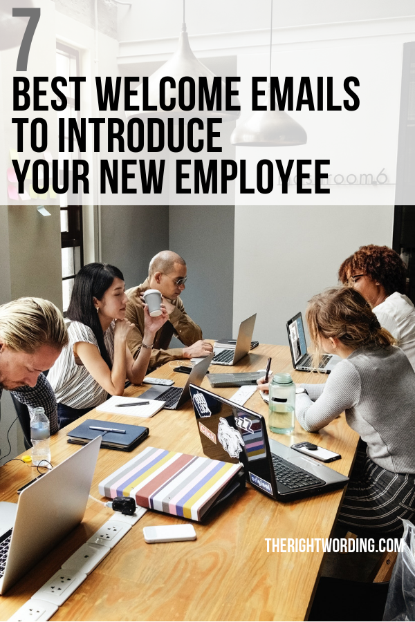 7 Best Employee Introduction Email Samples To Welcome Your New Hire #emailmarketing #business #managerlife #businessowner #businesslife