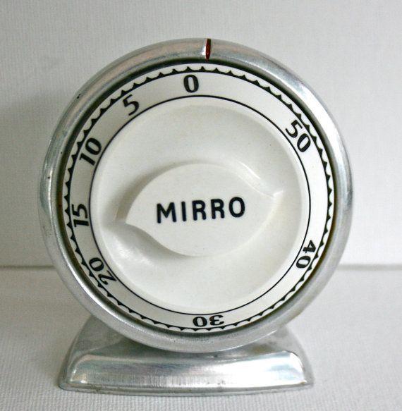 Vintage Kitchen Timers Mirro Lux Timer Retro Rhpinterest: Retro Kitchen Timer At Home Improvement Advice