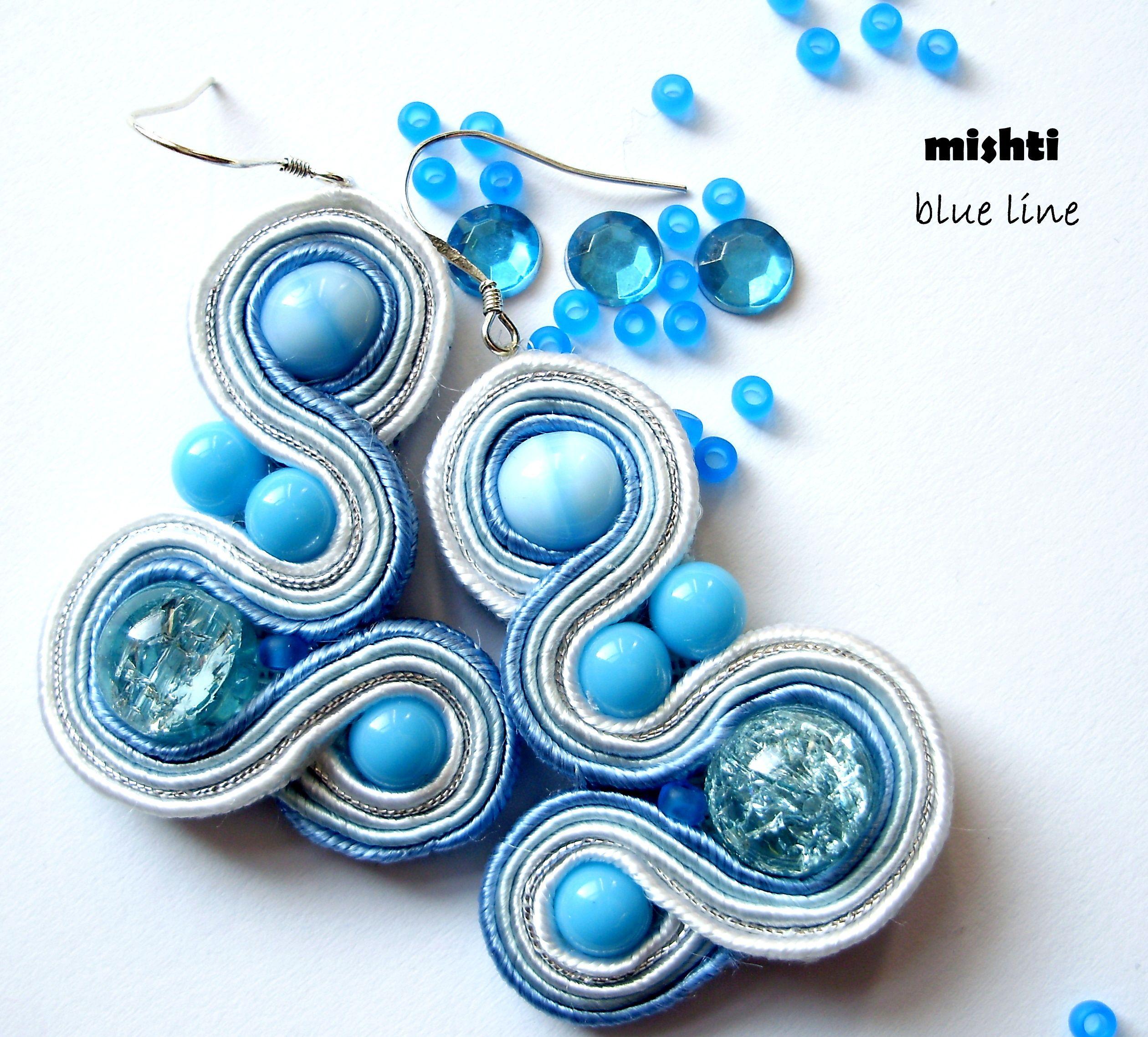 Soutache earrings mishtiartspot follow me