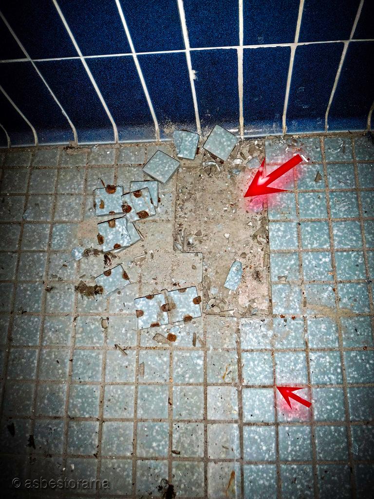21++ How much asbestos is in floor tiles