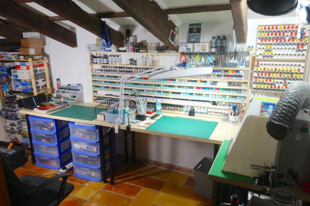 Pin by Jivko Djakov on Hobby room, Hobby desk