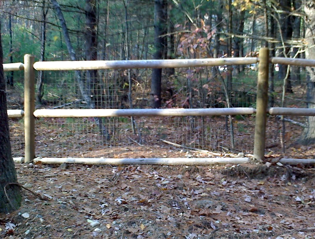 split rail fence with wire for horses | and oak split rail fence ...