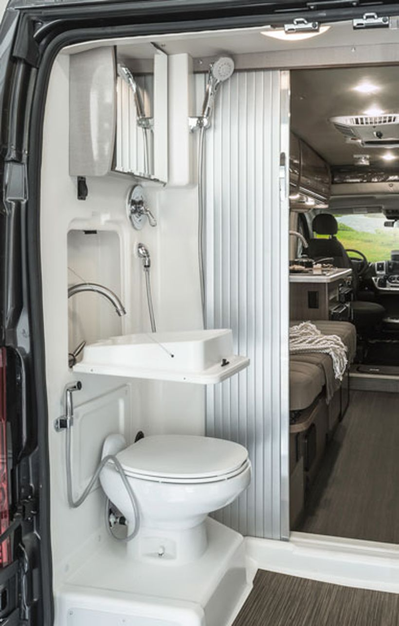 80 Wonderful Small RV Bathroom And Toilet Remodel Ideas