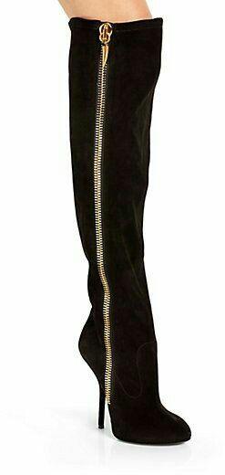 Giuseppe Zanotti boots suede zip