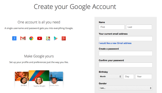 How To Create A Google Account Without A Gmail Address Google