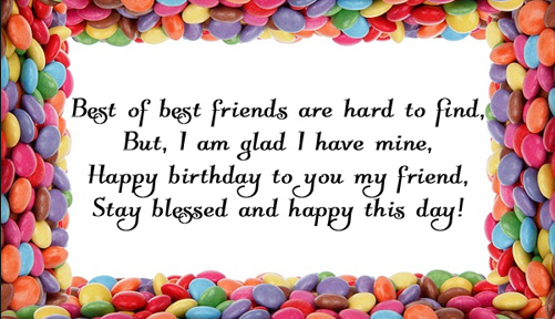 Birthday Wishes To Friend, Birthday Wishes for Friends