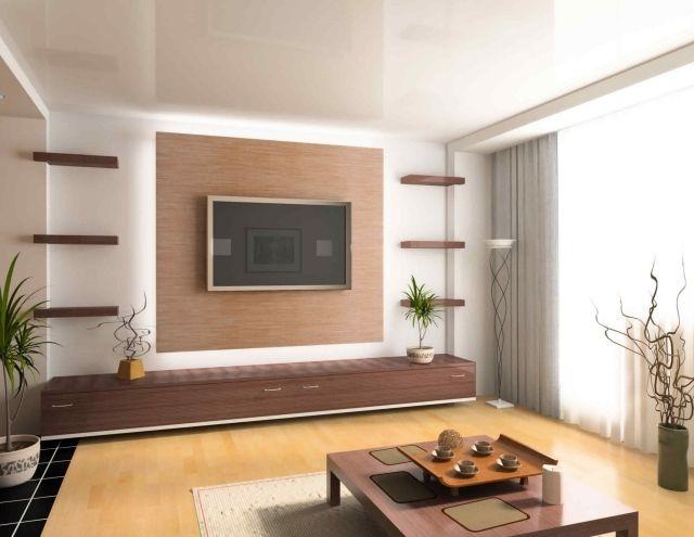 Moderne Wohnwand Style : Style et luxe dans votre salon avec un meuble télé moderne