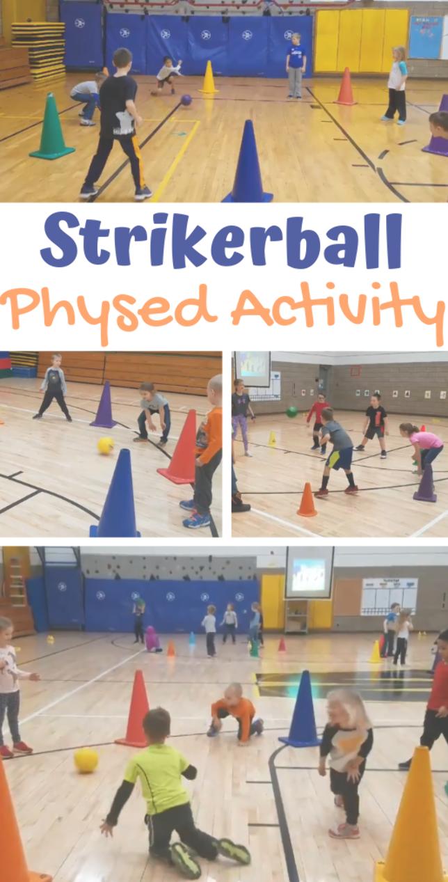PE Teacher Kalie Schult shares her activity called
