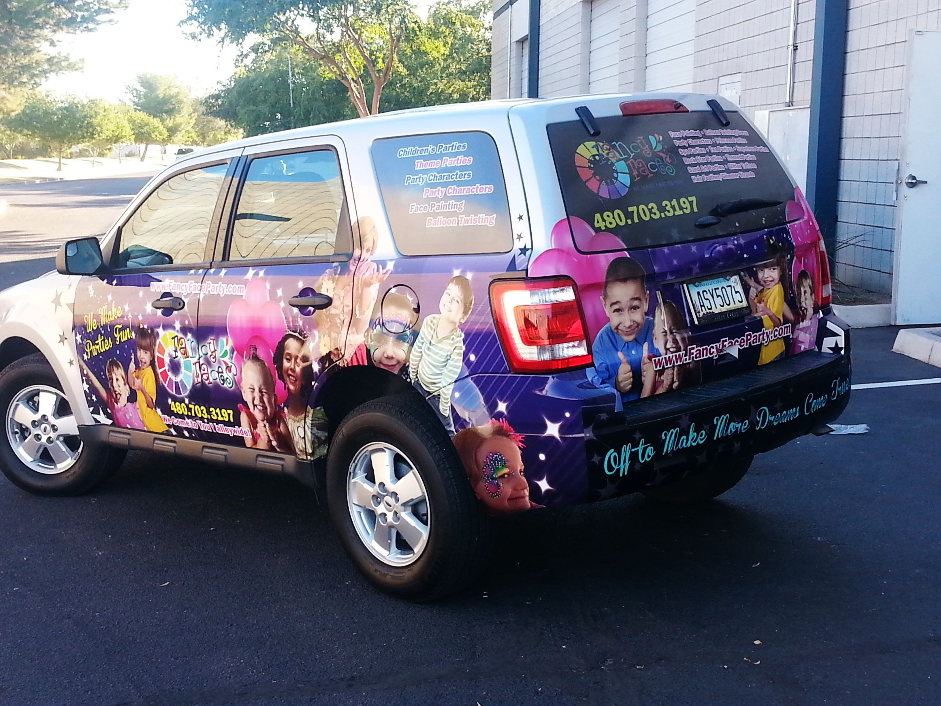 The Newest Finished Vehicle Wrap Done By Speedpro Mesa Gilbert Car Wrap Vehicles Car [ 2448 x 3264 Pixel ]