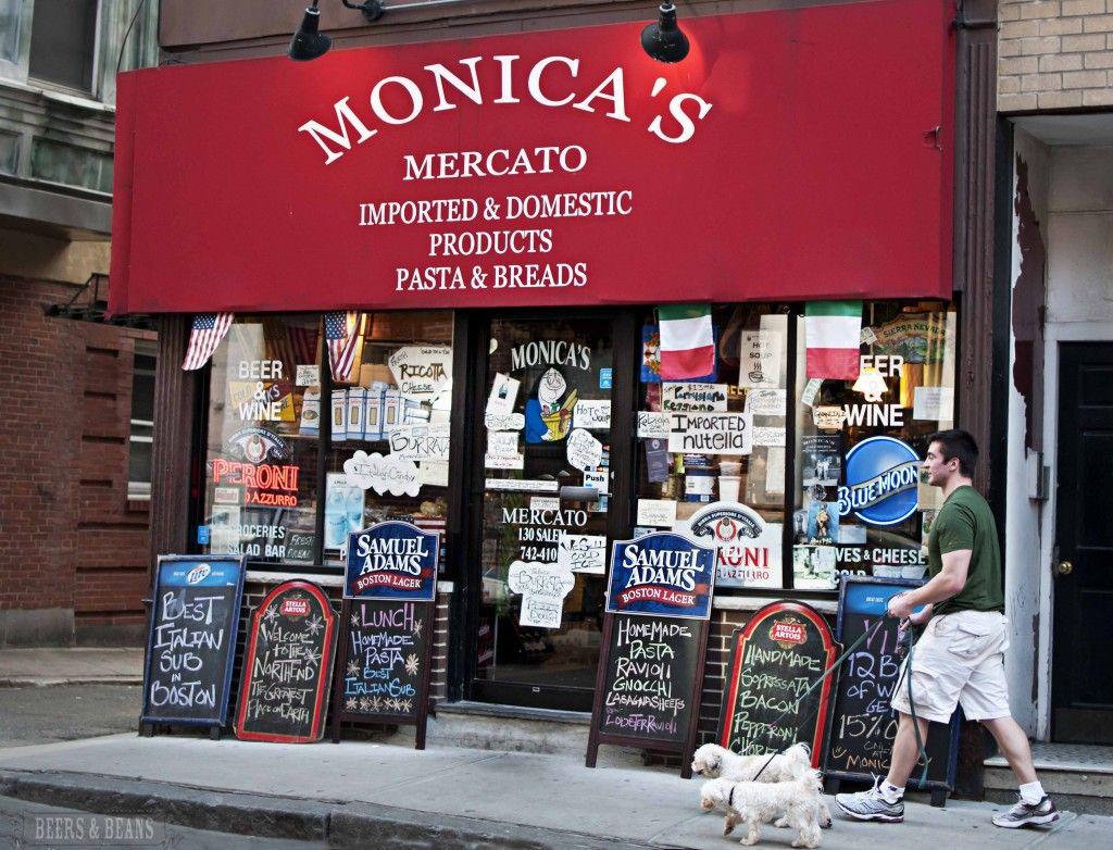 Monica S Mercato North End 141 Salem Street Boston Massachusetts Boston North End Culinary Tours Mulberry Street