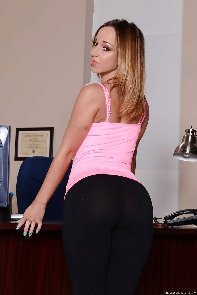 Jada Stevens Booty Call At The Office
