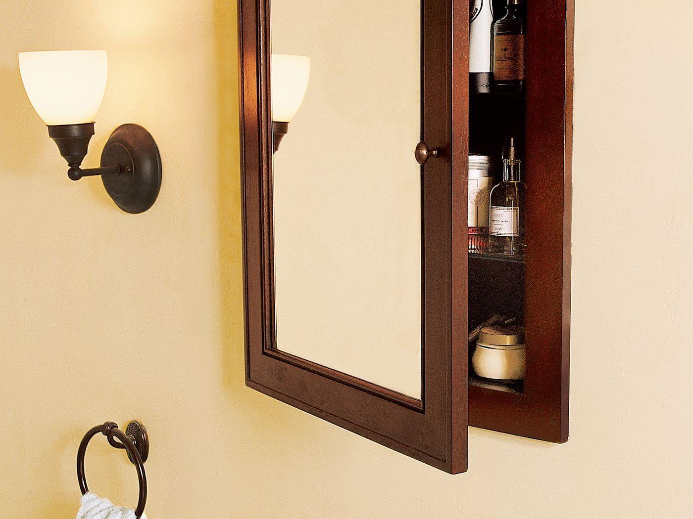 How To Install A Medicine Cabinet Medicine Cabinet Organization