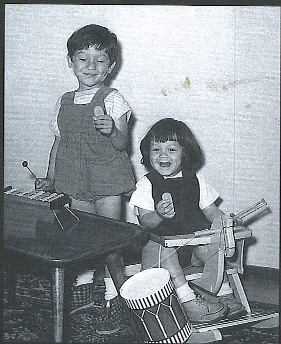 5323c9eff EDDIE AND ALEX VAN HALEN Look at Baby Eddie & Baby Alex!!! TOO FREAKIN'  cute!!!