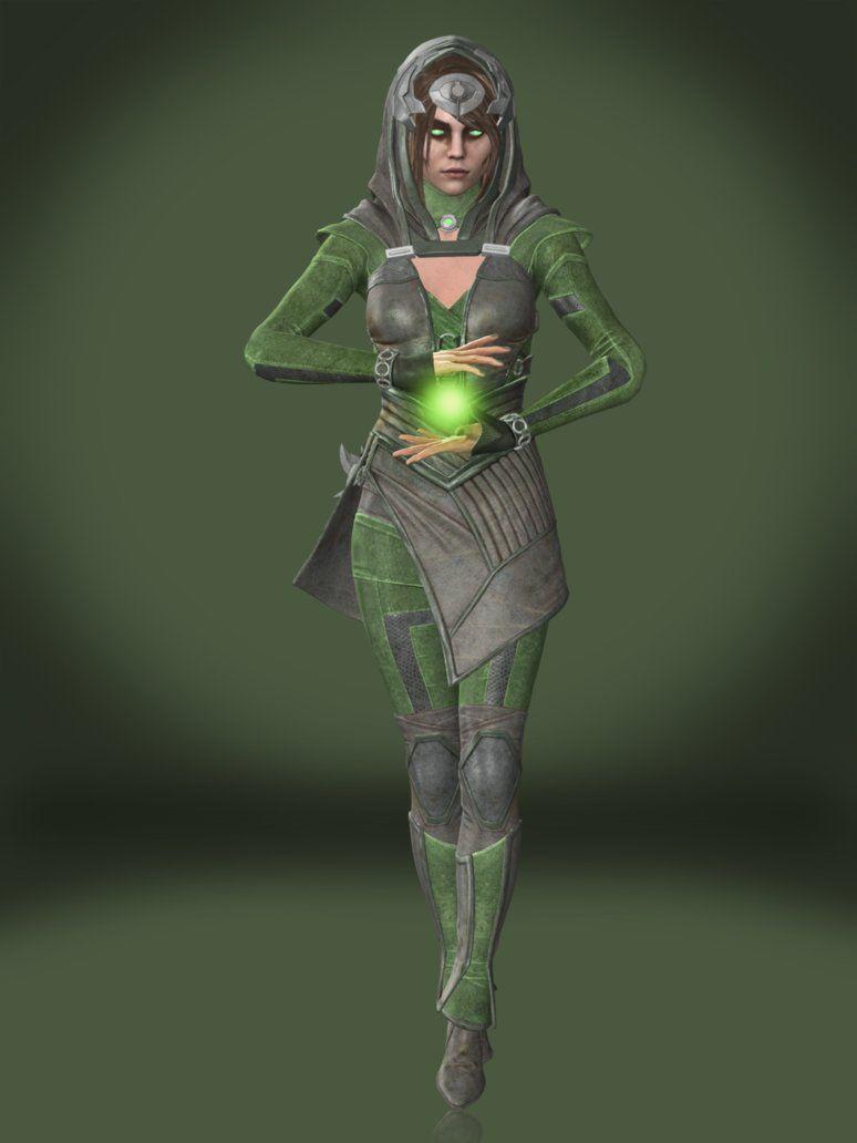 Enchantress Model Enchantress Marvel Vs Dc Superhero