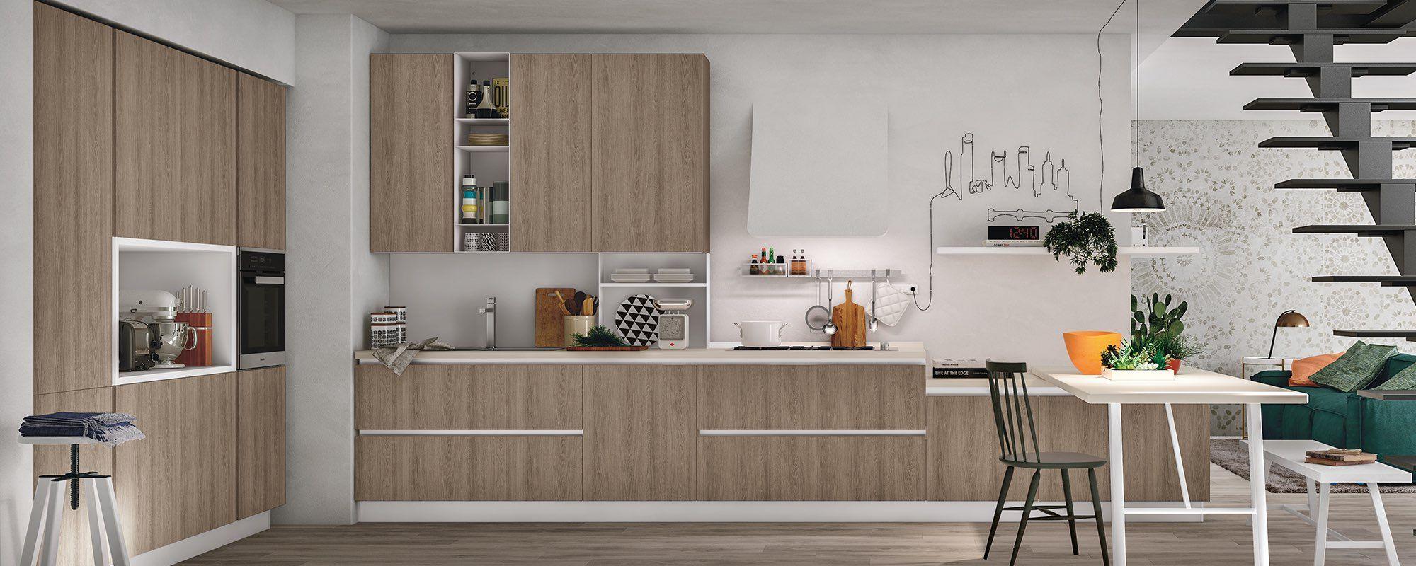 Cucine Sospese Moderne.Arredamentifelicepalma Felicepalma Arredamenti Cucina