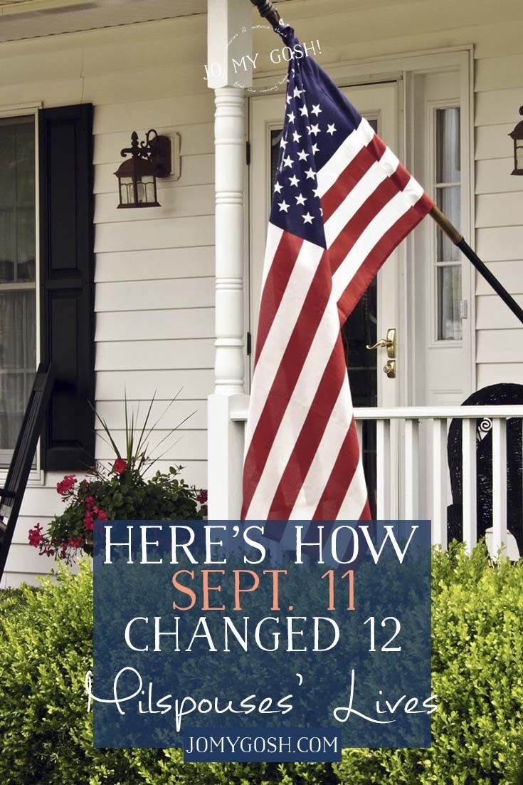 Here's How Sept. 11 Changed 12 Military Spouses' Lives