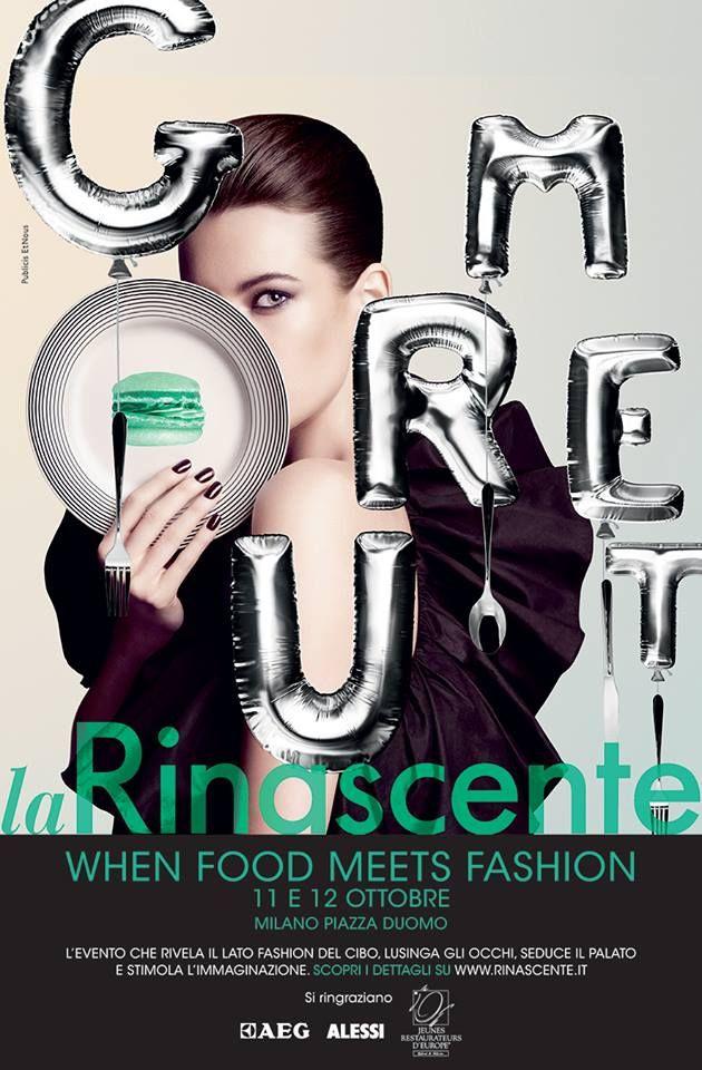 When Food Meets Fashion, Marco Parizzi in Rinascente