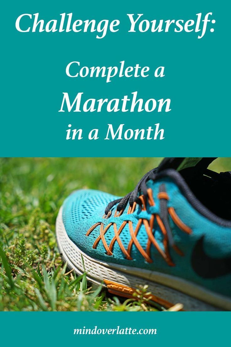 Running a marathon in one shot is not for everyone. But anyone can complete a marathon in a month. GET YOUR FREE TRACKER and get on your way. Challenge yourself! See if you can run a marathon in a month. #marathoninamonth #fitness #health #running #marath