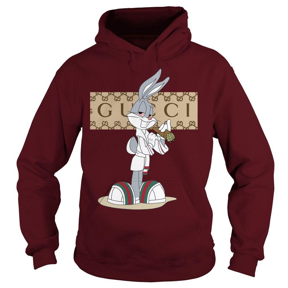 9c67c6fce1f08b Rabbit bugs gucci hoodie