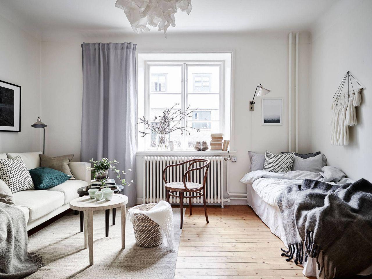 Idée d\'aménagement studio | Aménagement studio / petit appartement ...