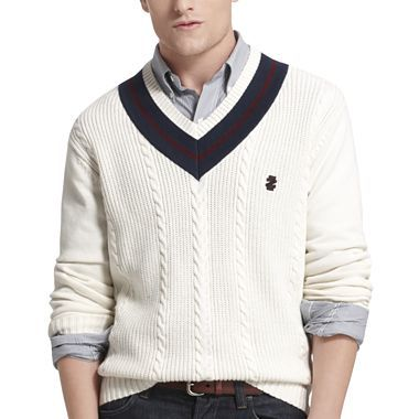 IZOD® V-Neck Tennis Sweater - jcpenney | Turn down 4 what ...