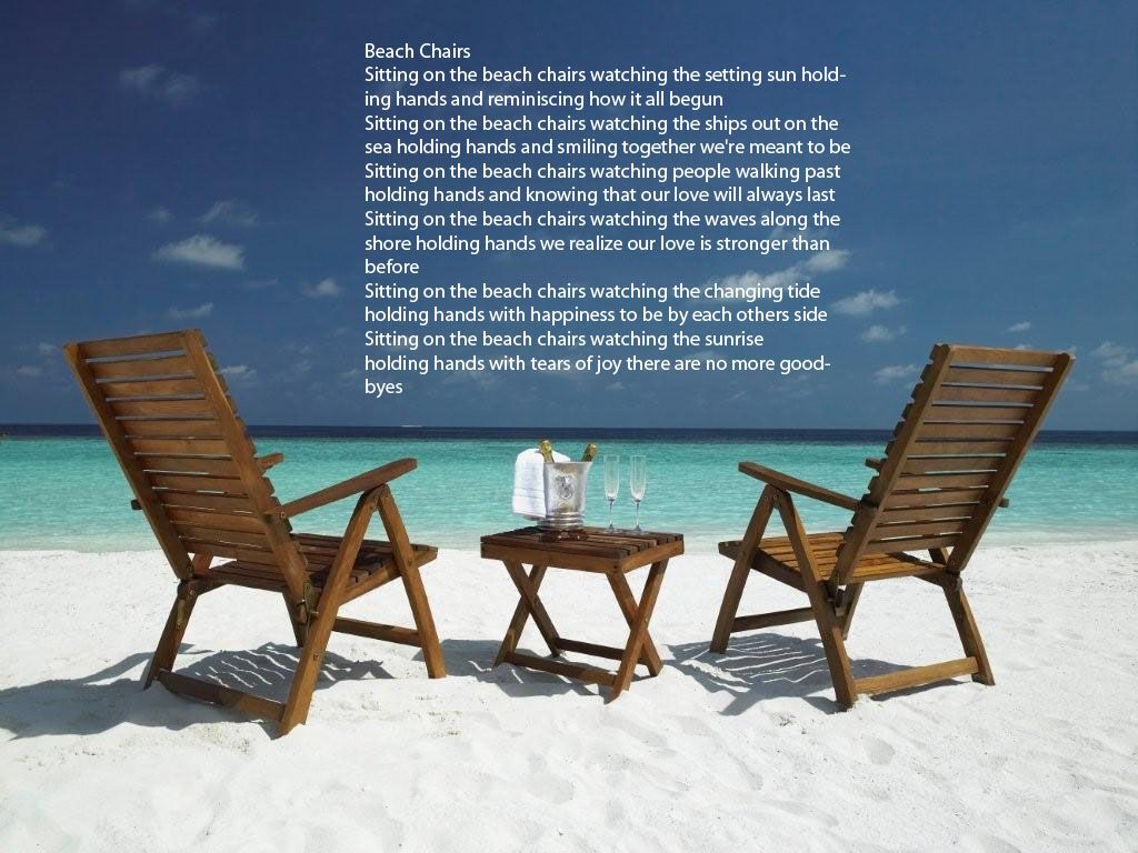 One Of Our Wedding Readings Beach Chairs By Joyce Ebrecht Beach Chairs Audley Travel Beach