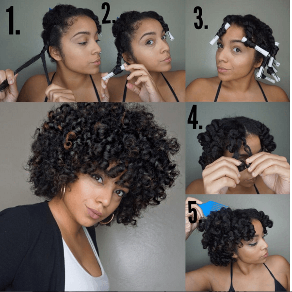 Voluminous Twist Curl Twist Curls Curly Hair Styles Hair Without Heat