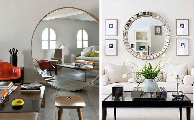 ideas para decorar con espejos en el hogar espejos