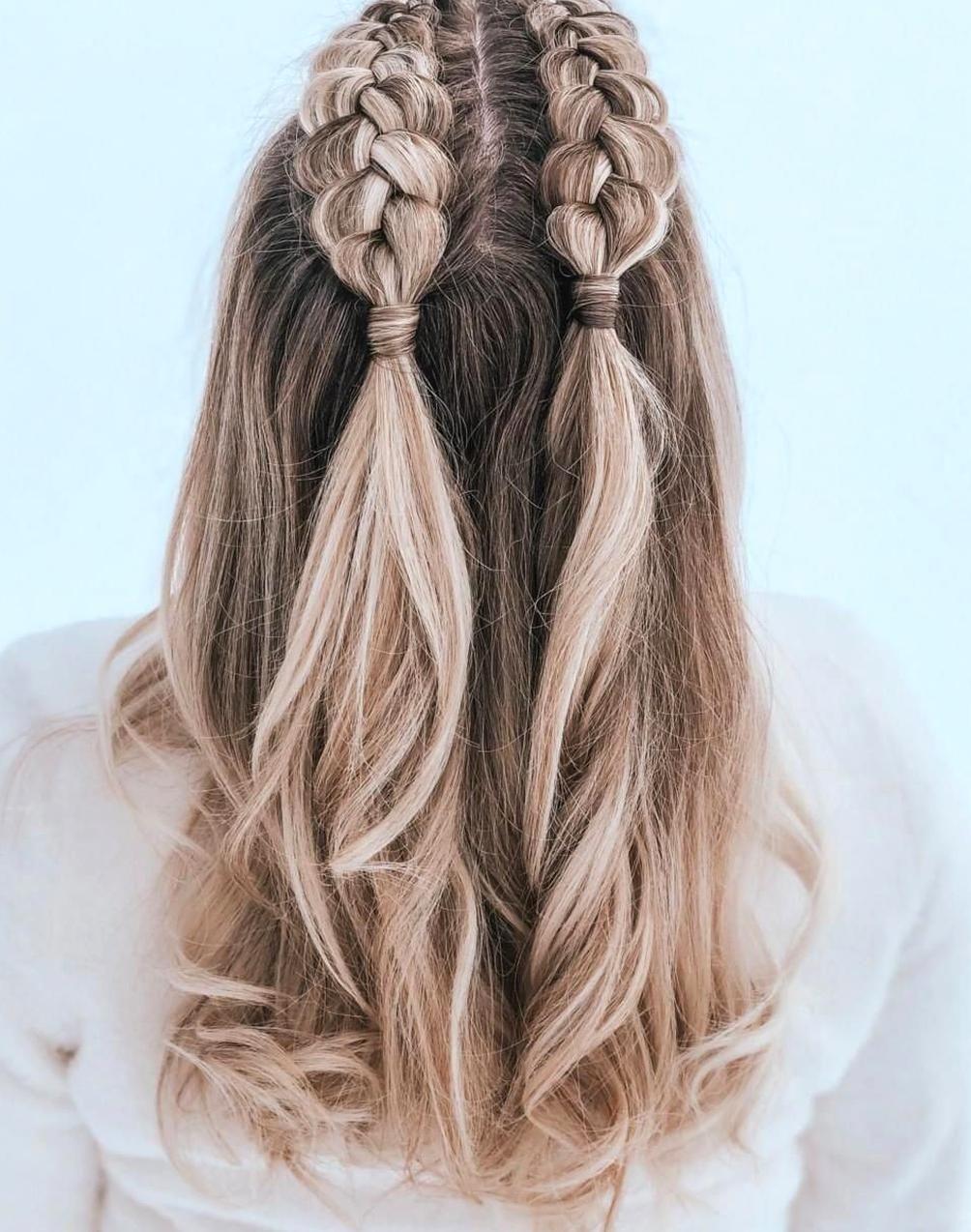 Frisurenfrisuren Tumblr Tumblr Frisuren Frisuren Tumblr In 2020 Hair Styles Medium Length Hair Styles Kids Braided Hairstyles