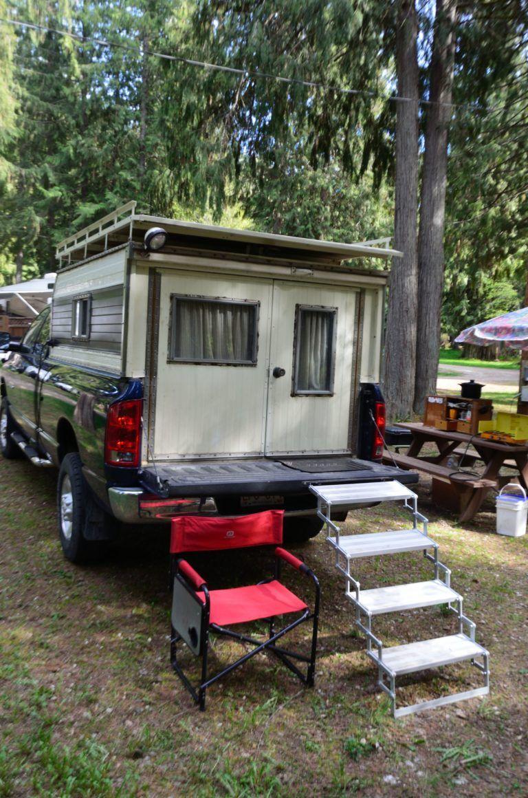 Diy Dodge Diesel Truck Camper One Man S Story Dodge