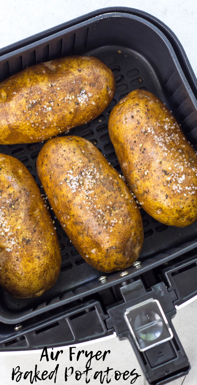 Air Fryer Baked Potatoes Simply Made Recipes Recipe Air Fryer Recipes Healthy Air Fryer Recipes Easy Air Fryer Dinner Recipes