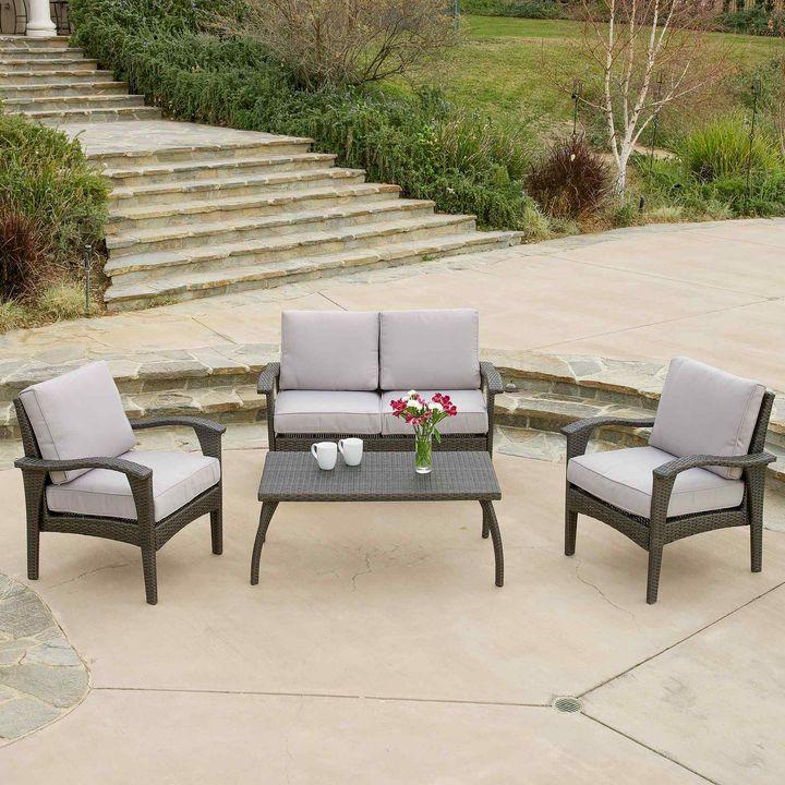 Wicker Outdoor Sofa