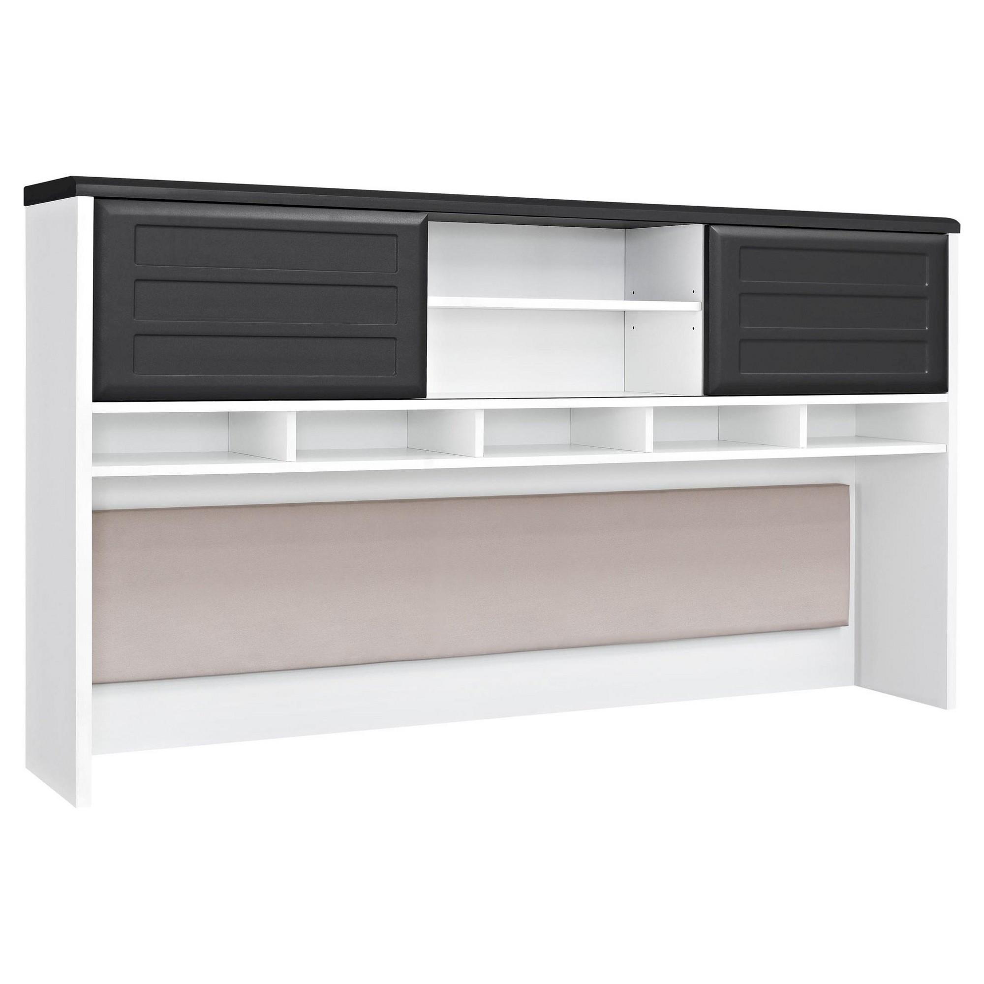 with stylish espresso bookshelves ameriwood amazon l desks industries shaped home desk instructions com in