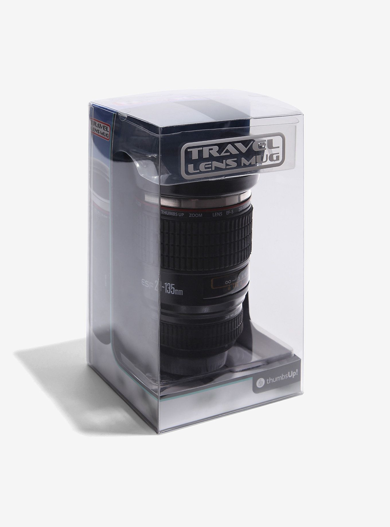 Camera Lens Travel Coffee Mug: Thumbs Up Cup | BoxLunch