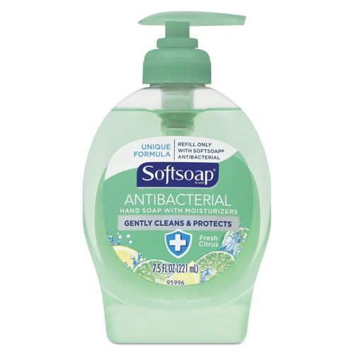 Antibacterial Moisturizing Hand Soap Fresh Citrus 7 5 Oz Pump