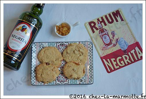 Cookies rhum-raisins