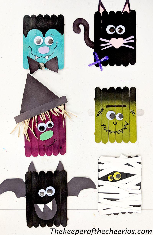 Photo of Halloween Craft Sticks