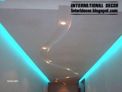 Classic Gypsum Plaster Roof In Spanish Designs Calm Gypsum Roof Designs Roof Design Spanish Design False Ceiling Design