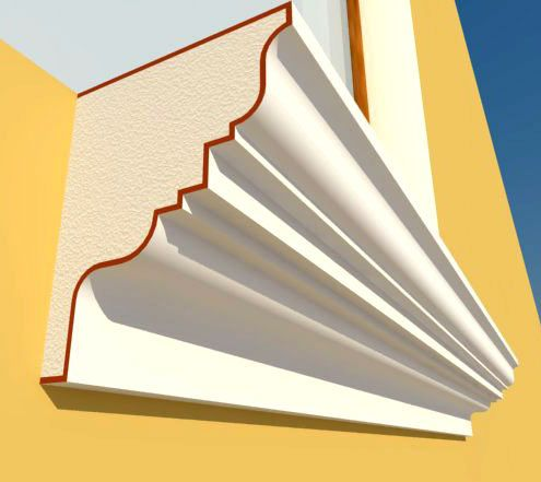 Architectural Eps Cornice Mould Profile Photo Detailed About Architectural Eps Cornice Mould Profile Picture On Alibab Cornice Design Cornice Cornice Moulding