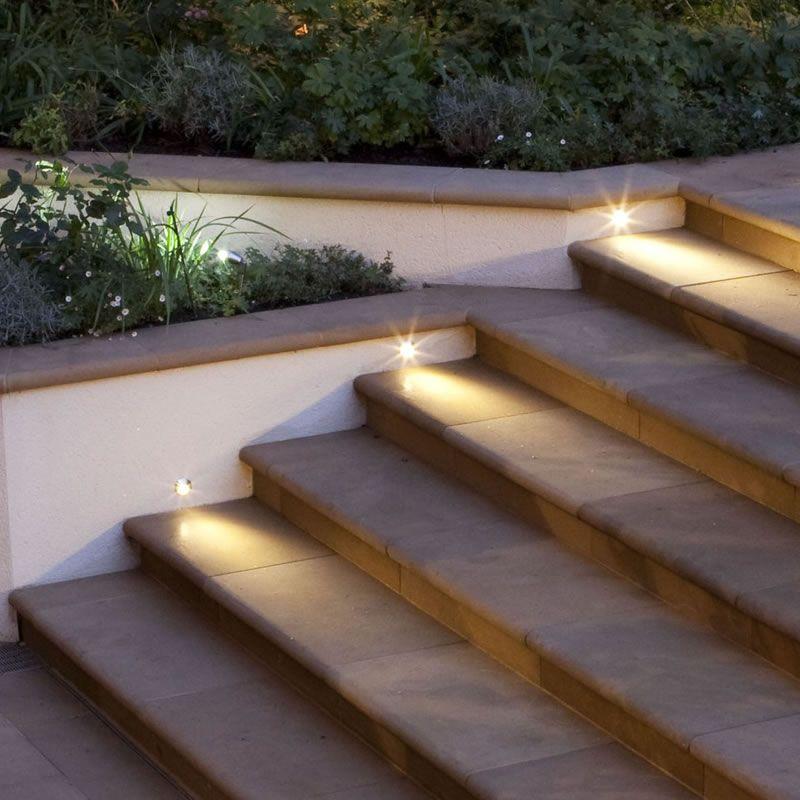 Step Light Idea Project Beach Shack Byron Pinterest Gardens Garden S