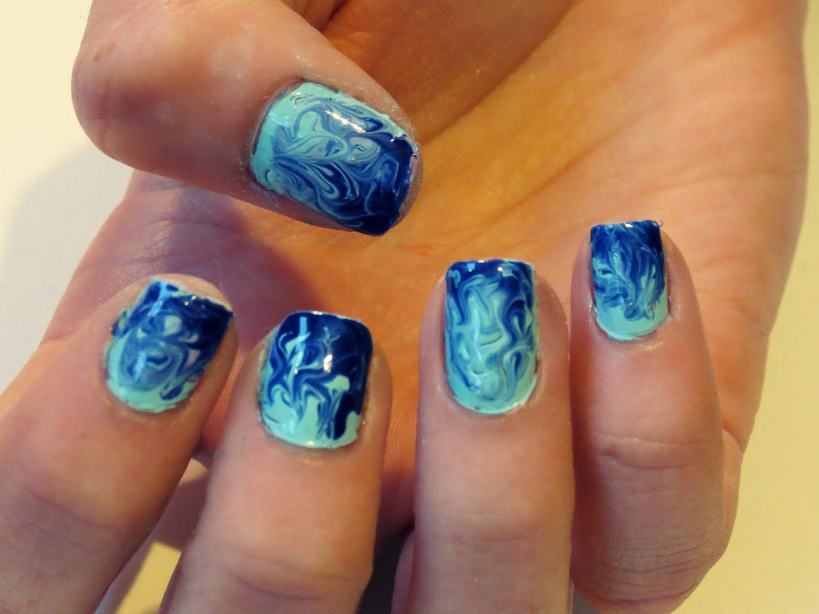 Nailarttutorial Islaay Uk Beauty And Style Blog Swirly Nail