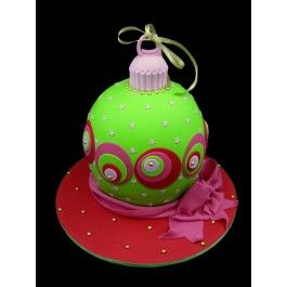 Cake Decorating Central Christmas Bauble Cake Class Christmas