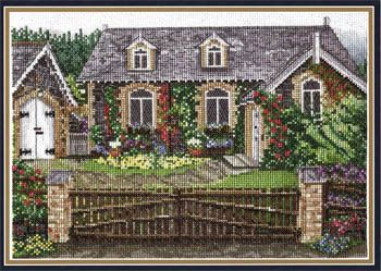 English Cottage - Cross Stitch Pattern | Cross stitch | Cross stitch