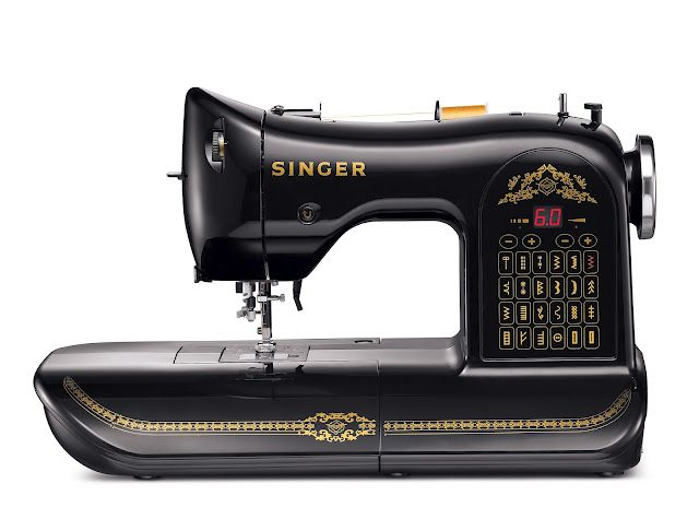 Singer Sewing machine to celebrate their 160th birthday -- love the style -- reminds me of the old singer that I learned to sew on in 4H.