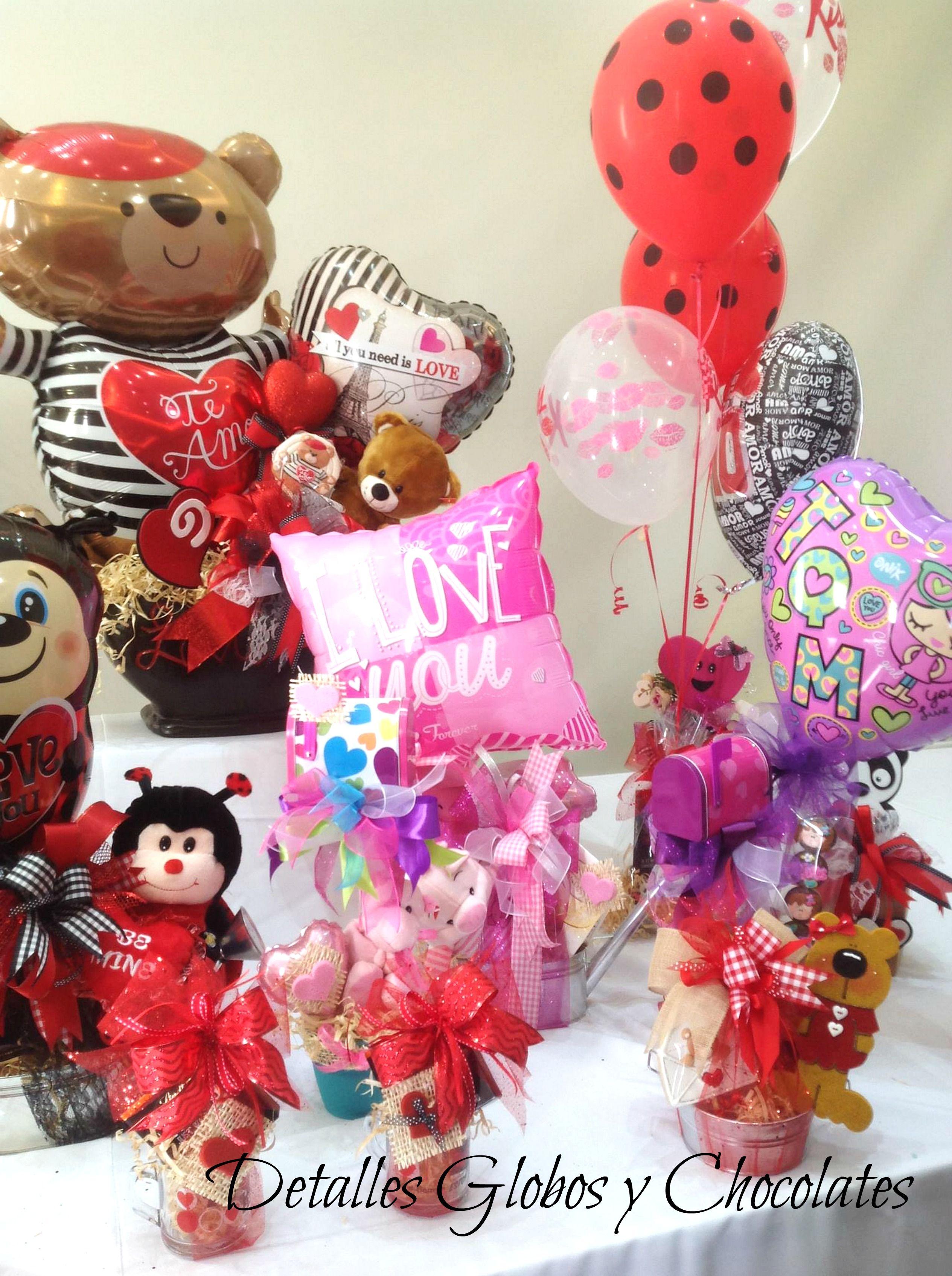 Detalles globos y chocolates decopeluches pinterest - Detalles para decorar ...